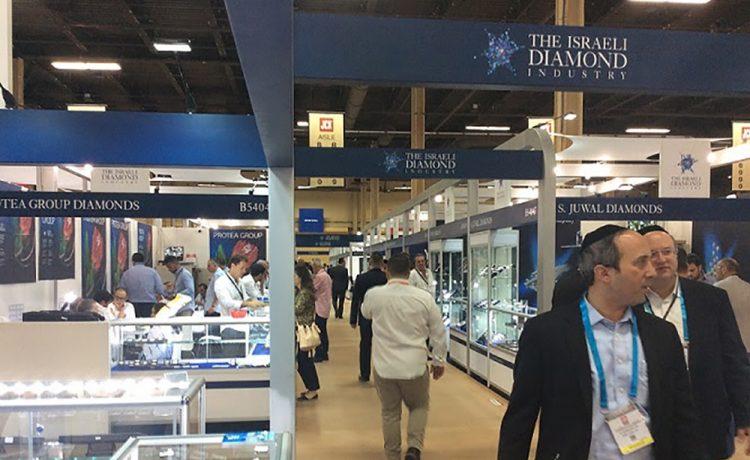 Bid for Stones at Israel's Pavilion at JCK