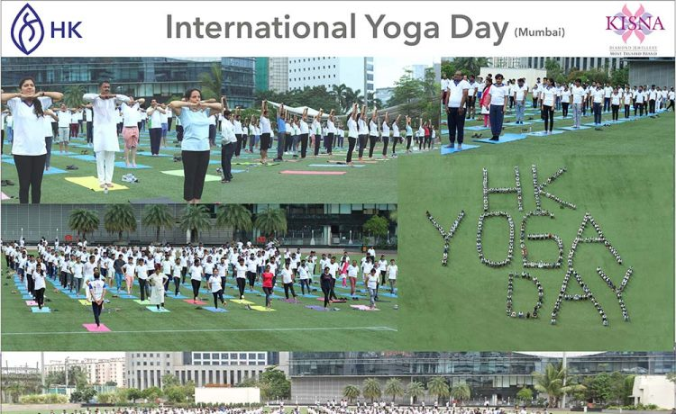 Hari Krishna Group Conducts Yoga Camp in Mumbai and Surat