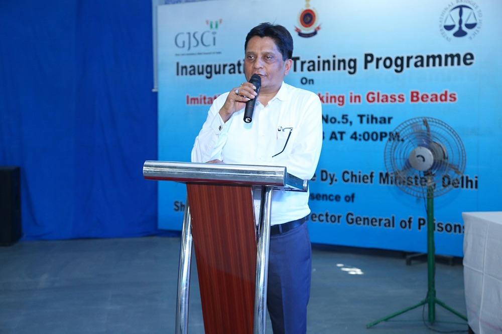 GJC Chairman No Prisoners in Tihar Will Be Left Jobless
