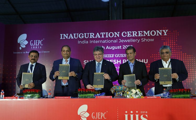 GPEPC Kick Starts Its 35th Edition of India International Jewellery Show