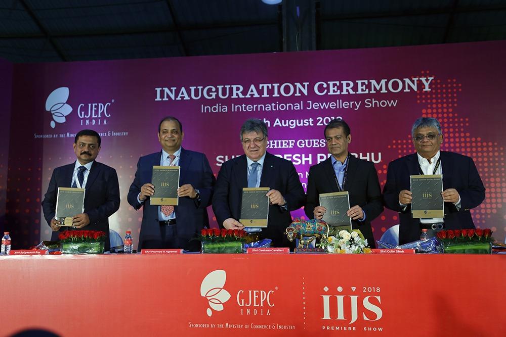 GPEPC Kick Starts Its 35th Edition of India International Jewellery Show