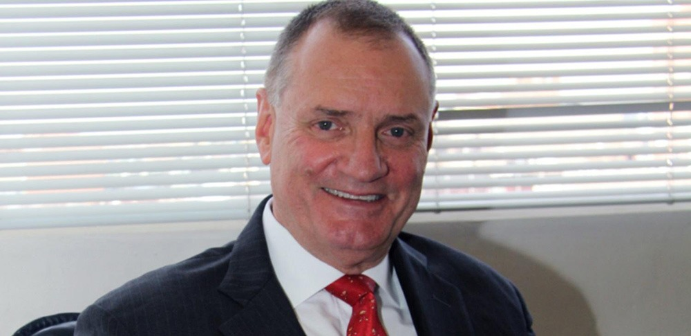"""Mr. Ernest Blom, President, WFDB expresses his approach as, """"always optimistic as I believe that is the best way to approach business."""""""