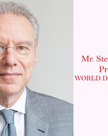 Mr. Stephane Fischler, President of WORLD DIAMOND COUNCIL