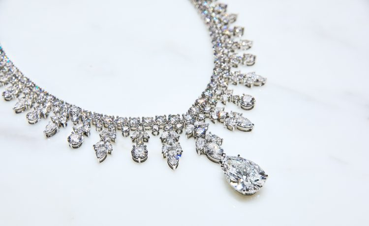 Platinum Jewellery Shinesat 76TH Golden Globe Awards