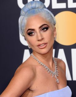 Lady Gaga in Platinum by Tiffany & Co.