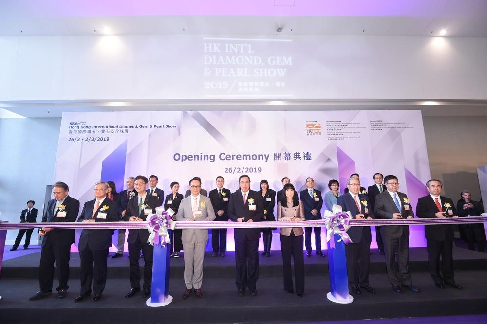 Hong Kong International Diamond, Gem & Pearl Show Opens Floor