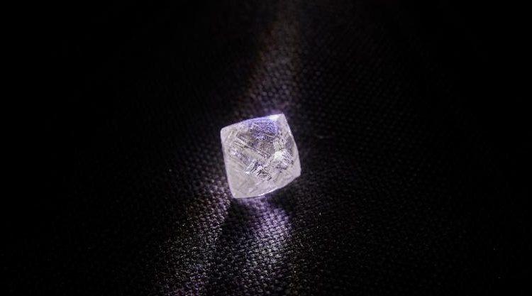 ALROSA's Verkhne-Munskoye Deposit Gives New Large Gem-Quality Diamond