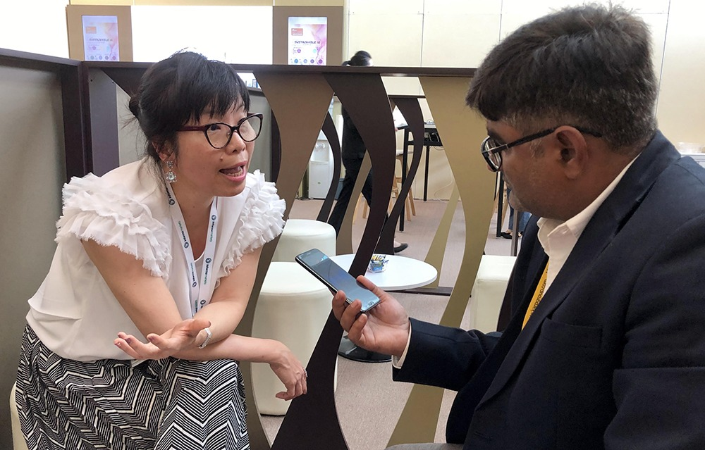 Hong Kong Jewelry and Gem Fair A Glittering Affair Celine Lau Director of Jewelry Fairs