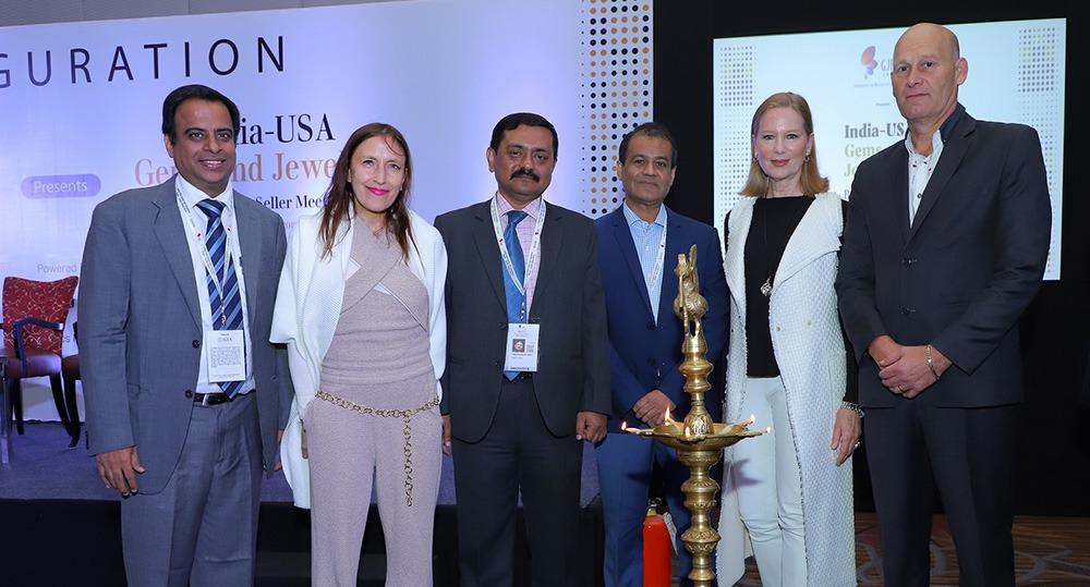 First India USA jewellery 'Buyer Seller Meet' organized by GJEPC in Mumbai