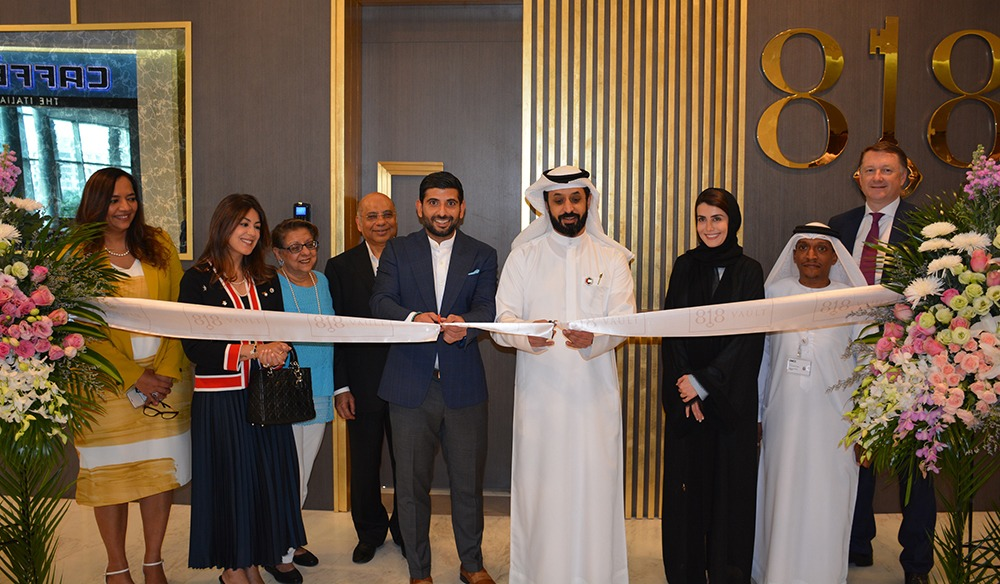 First Of Its Kind Luxury Vault And Safe Deposit Facility Unveiled At DMCC's Almas Tower In Dubai