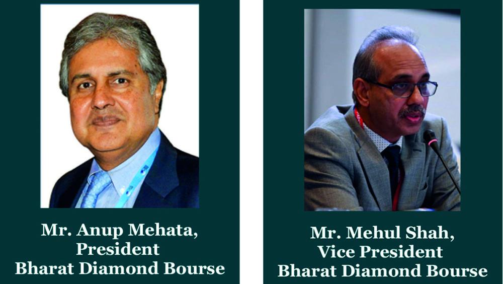Bharat Diamond Bourse BDB Rises to Fight Covid19