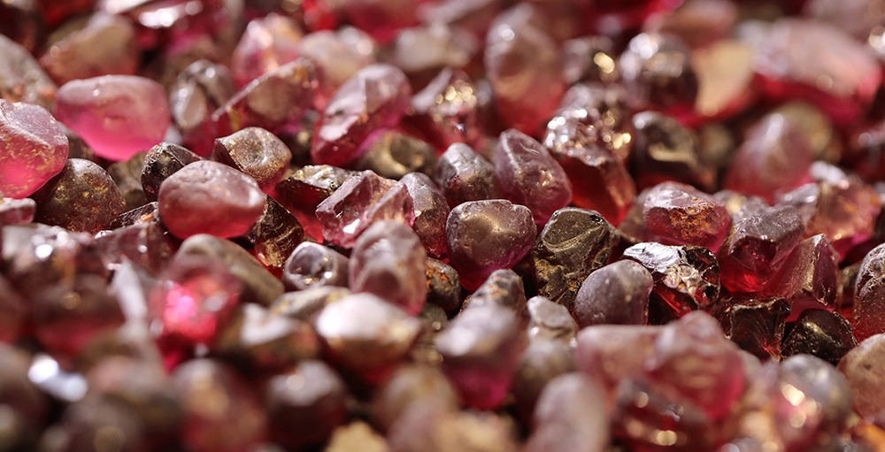 Vivid World of Colored Gems