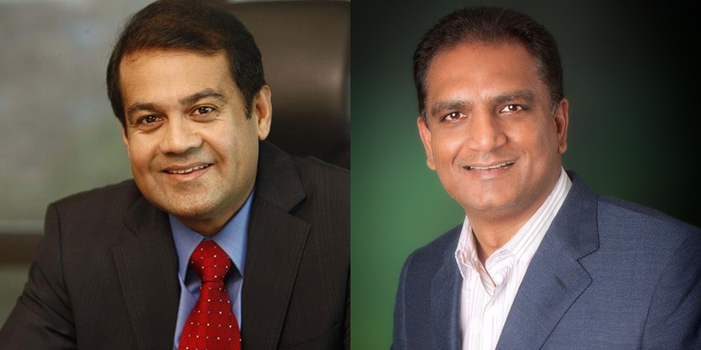 fROM Left Colin Shah,Chairman Vipul Shah,Vice-Chairman