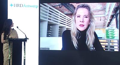 Ms Ellen Joncheere CEO HRD Antwerp